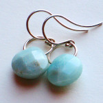 amazonite-earring